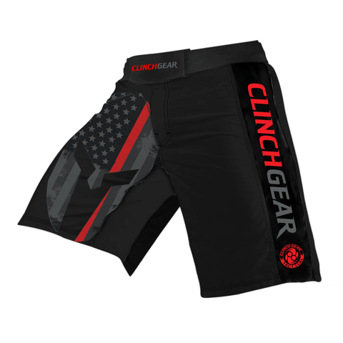 Pro Series Short - Thin Red Line - Clinch Gear