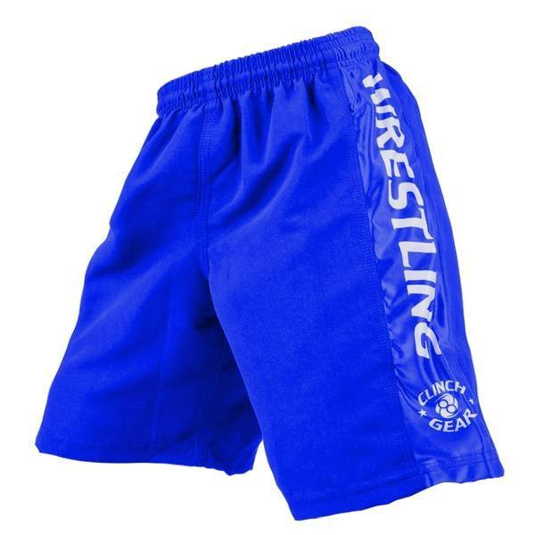 Youth Wrestling Short- Royal - Clinch Gear