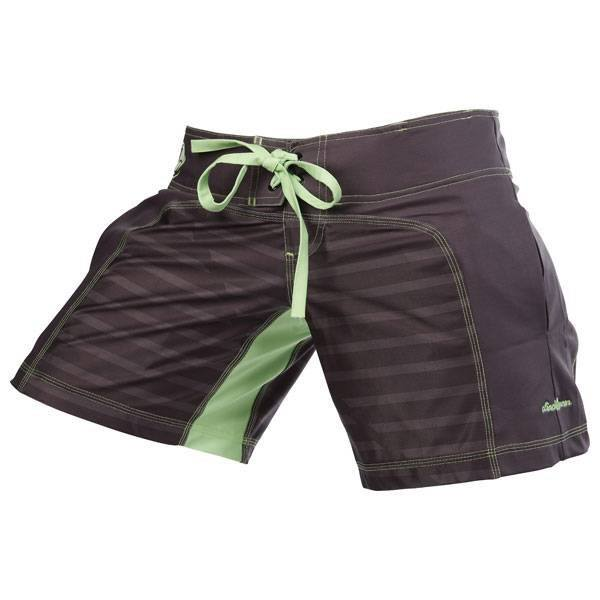 Womens Spectrum Hazard Short- Grey - Clinch Gear