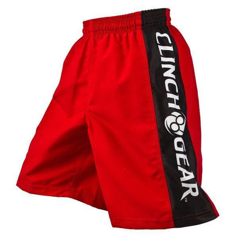 Youth Performance Short- Red/Black/White - Clinch Gear