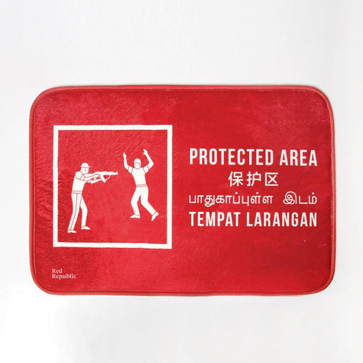 Protected Area Doormat