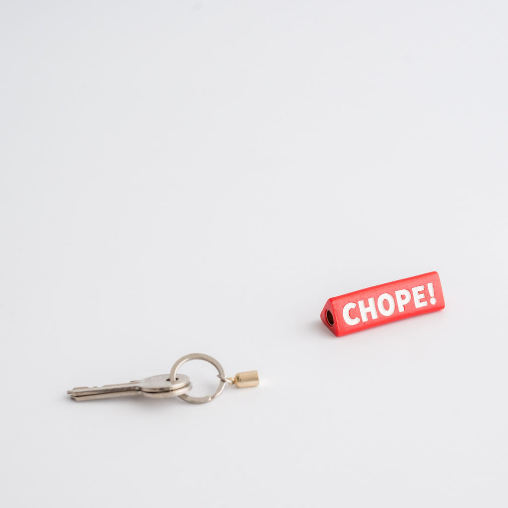 SS37 - Chope Magnetic Keychain - Personal - STUCKSHOP - Souvenirs from Singapore