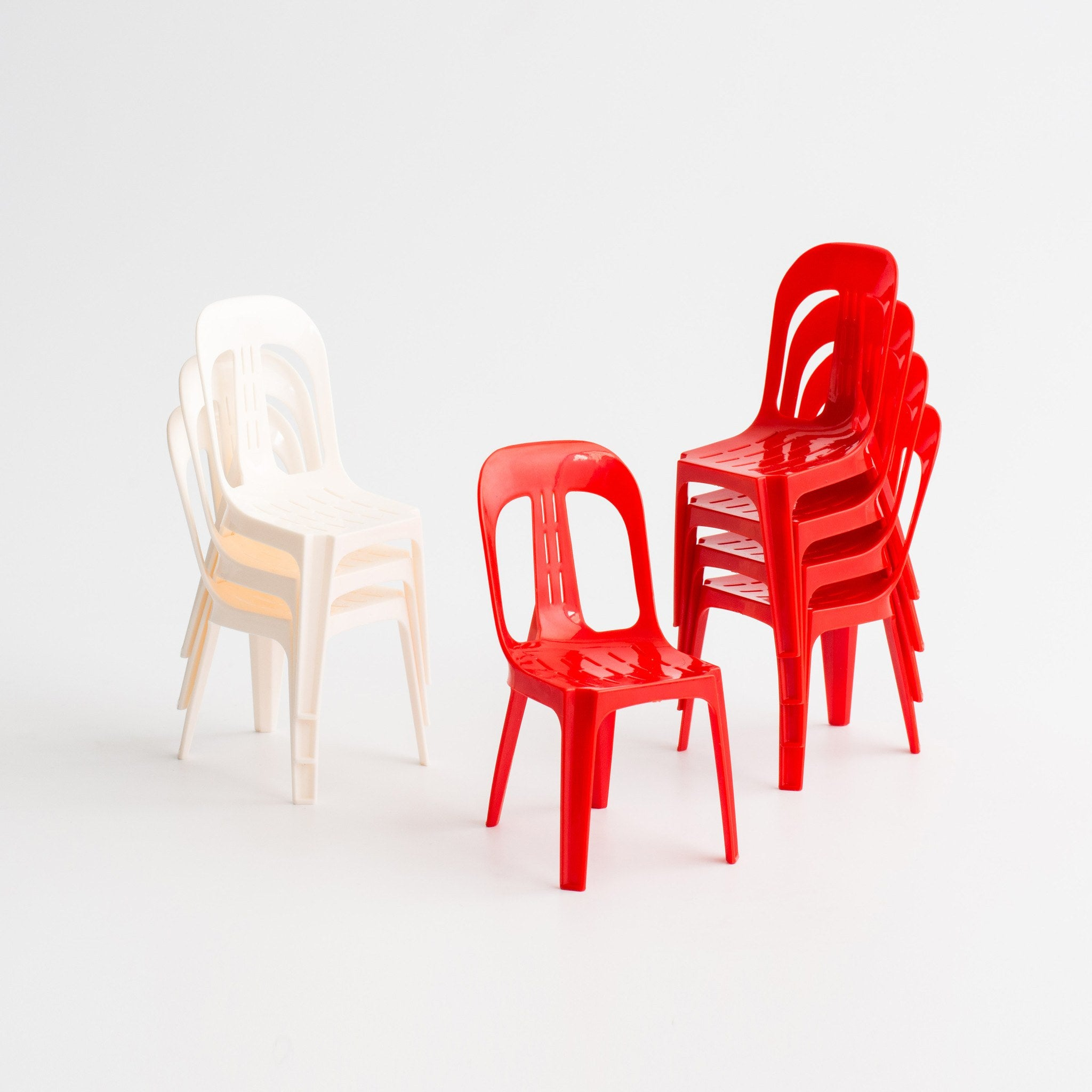 SS07 - Kopitiam Chair (Set of 3 Miniatures) - Collectibles - STUCKSHOP - Souvenirs from Singapore