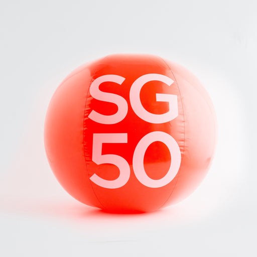 SS50 - SG50 Mega Beach Ball - Fun and Games - STUCKSHOP - Souvenirs from Singapore