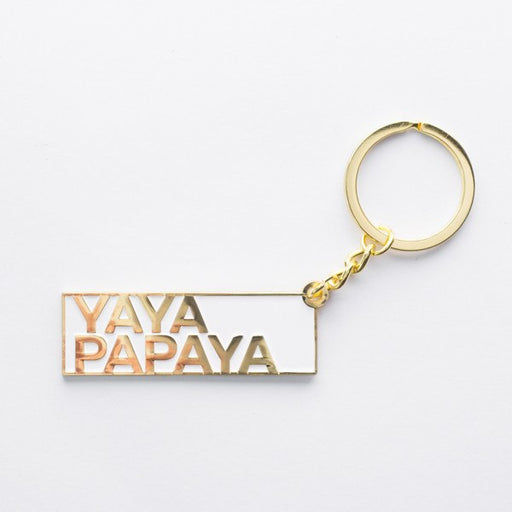 SS52.9 - Singlish Keychains - Yaya Papaya - keychain - STUCKSHOP - Souvenirs from Singapore