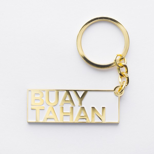 SS52 - Singlish Keychains - Buay Tahan - keychain - STUCKSHOP - Souvenirs from Singapore