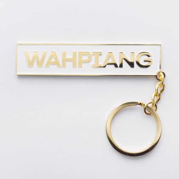 SS52.8 - Singlish Keychains - Wah Piang - keychain - STUCKSHOP - Souvenirs from Singapore