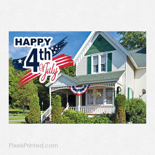 ERA real estate 4th of July postcards PixelsPrinted