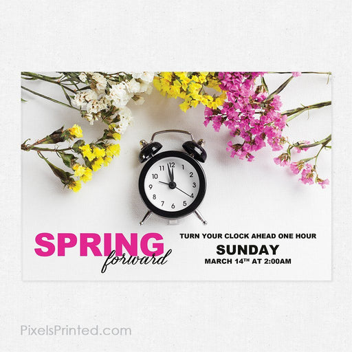 ERA real estate daylight savings postcards PixelsPrinted