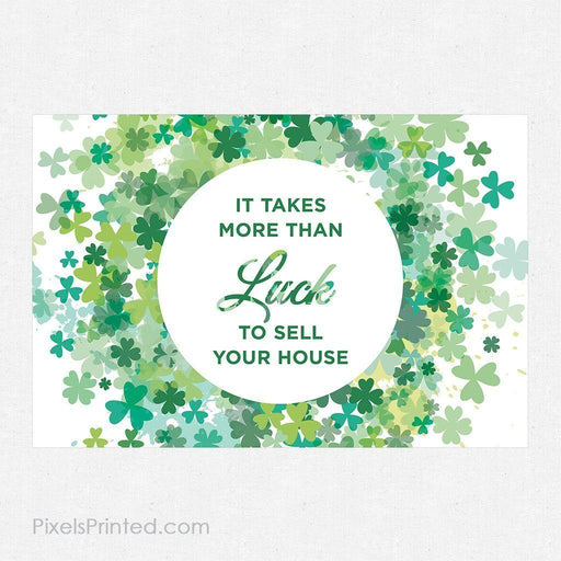 ERA real estate St. Patrick's Day postcards PixelsPrinted