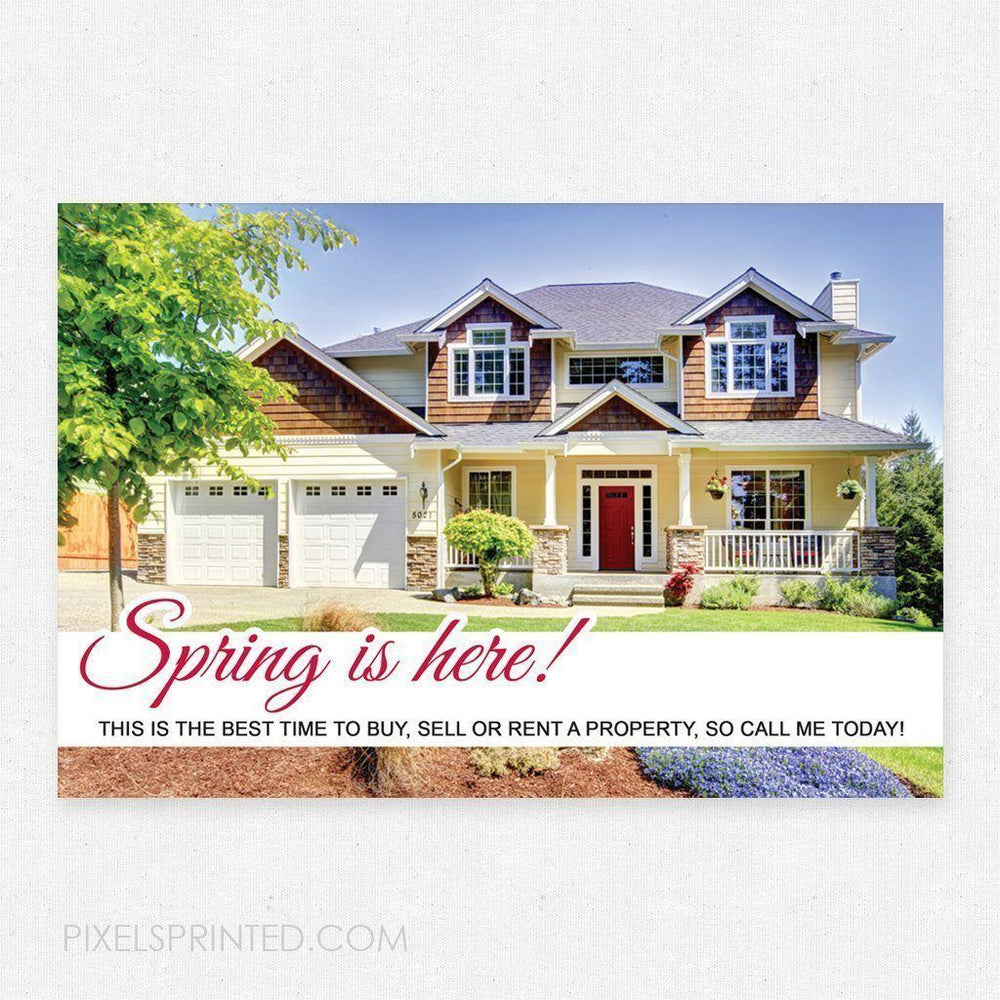 EXP realty spring postcards PixelsPrinted