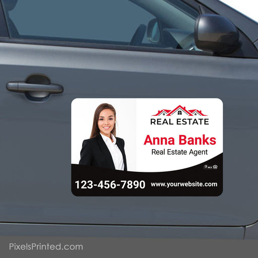 "Independent agent car magnets - 11""x17"" - a set of identical magnets PixelsPrinted"