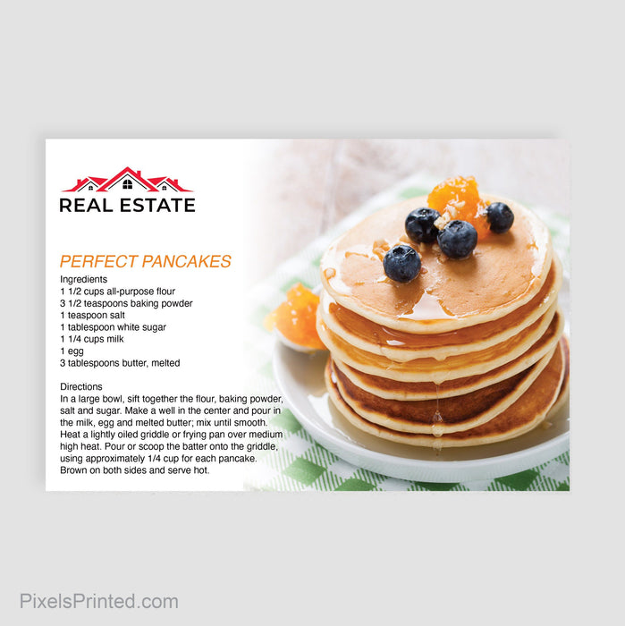 independent real estate recipe postcards postcards PixelsPrinted