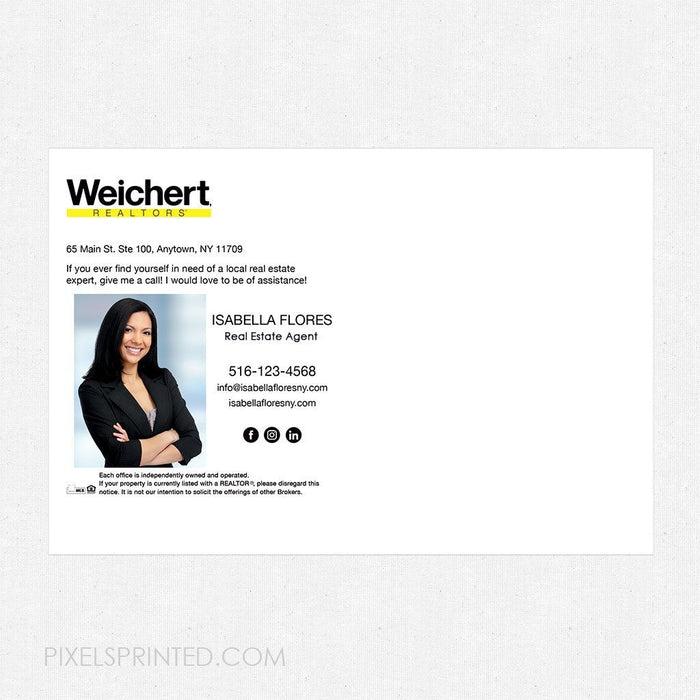 Weichert recipe postcards postcards PixelsPrinted