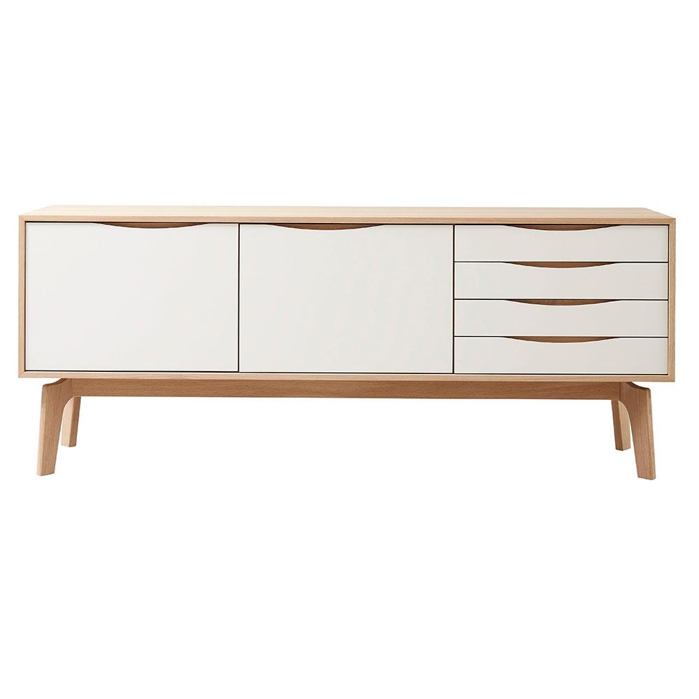 Edge Sideboard 195 - 2 Doors and 4 Drawers