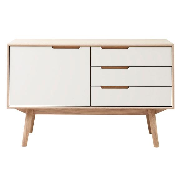 Curve Sideboard 119 - 1 Door and 3 Drawers