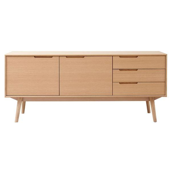 Curve Sideboard 176 - 2 Doors and 3 Drawers