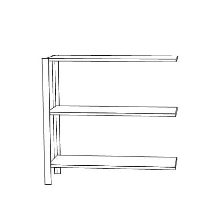 OMNI shelving system, low extra