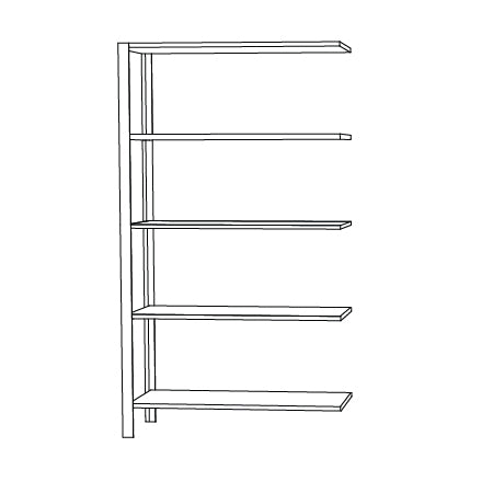 OMNI shelving system, high extra