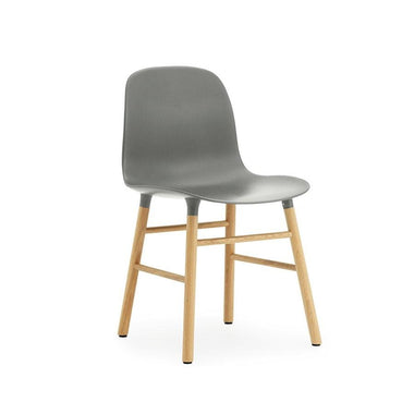 Form Chair w/ Oak Legs
