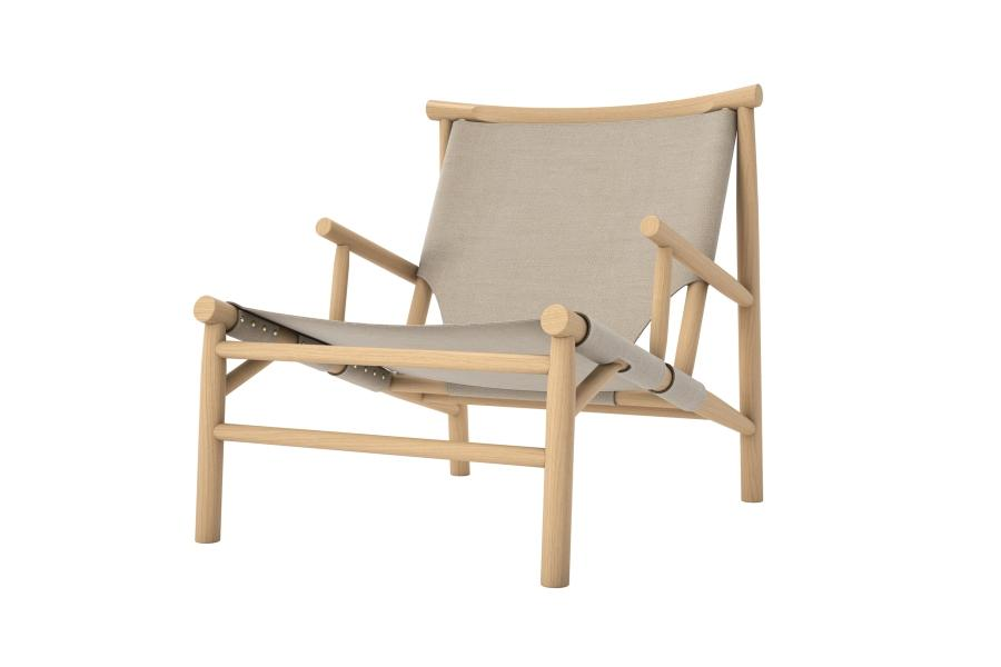 Samurai Chair - Natural Canvas