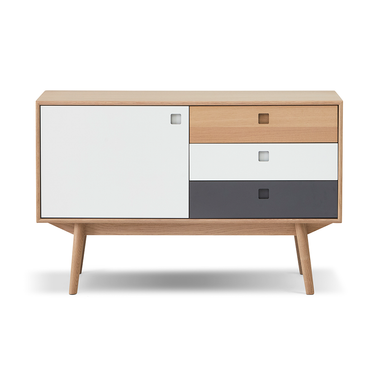 City Sideboard - 1 Door and 3 Drawers