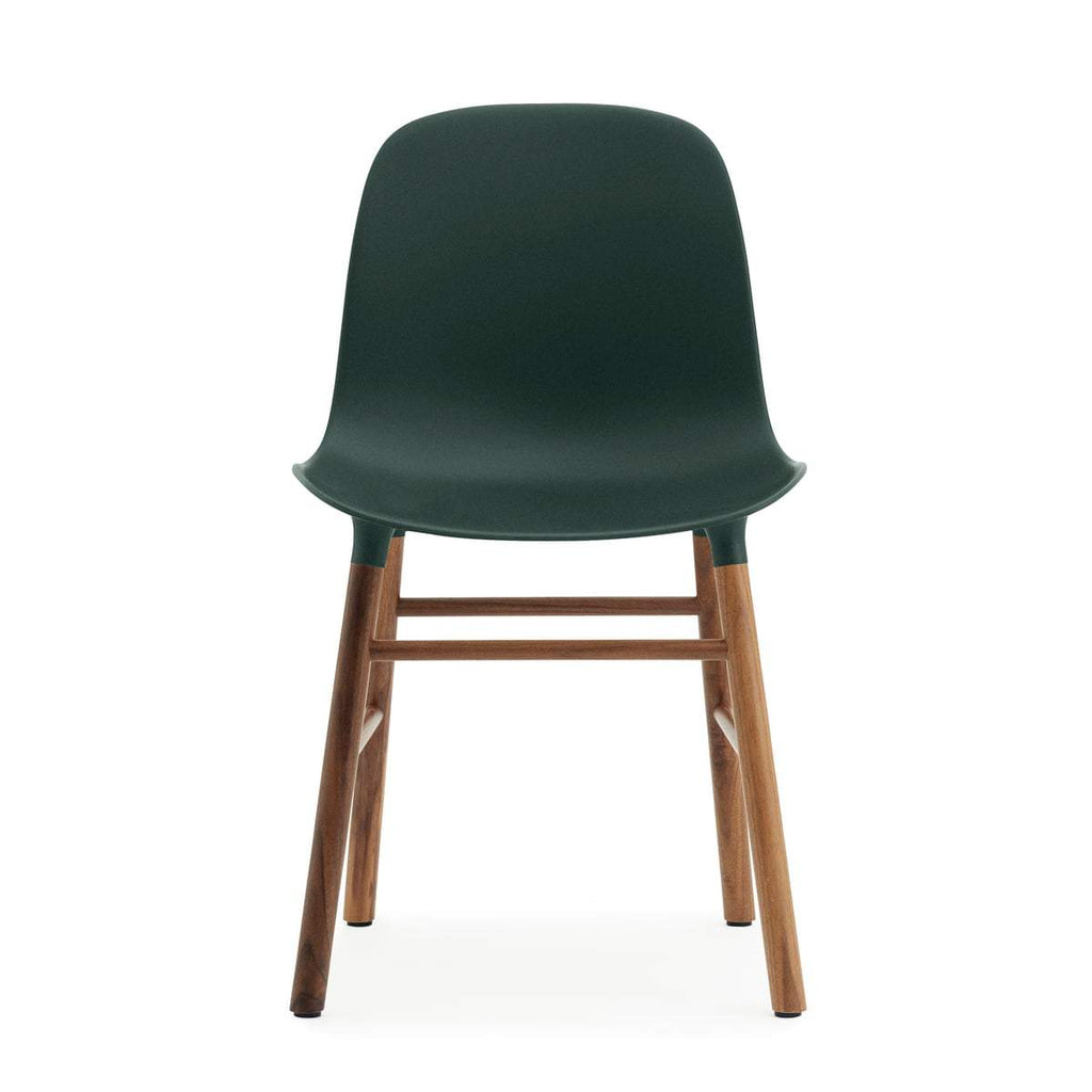 Form Chair w/ Walnut Legs
