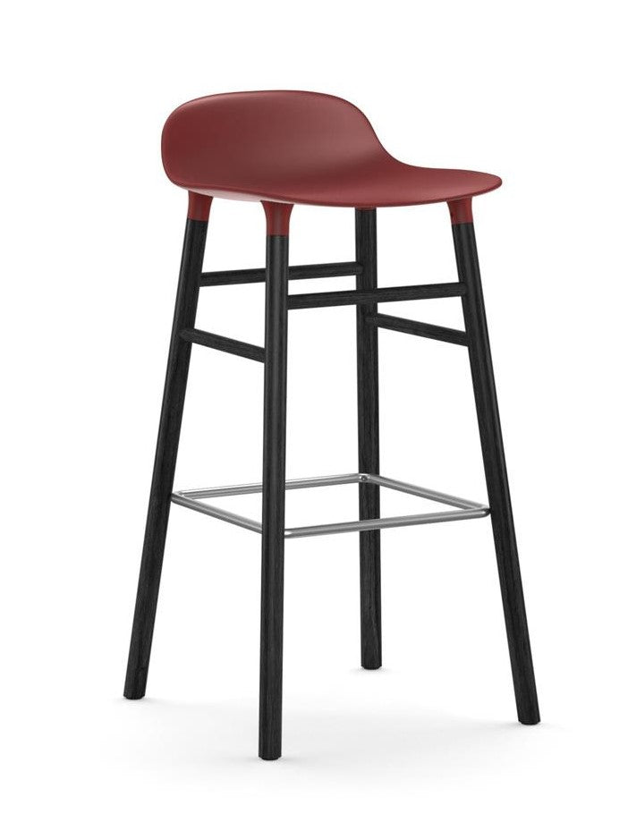 Form Bar Stool 75 cm Wood