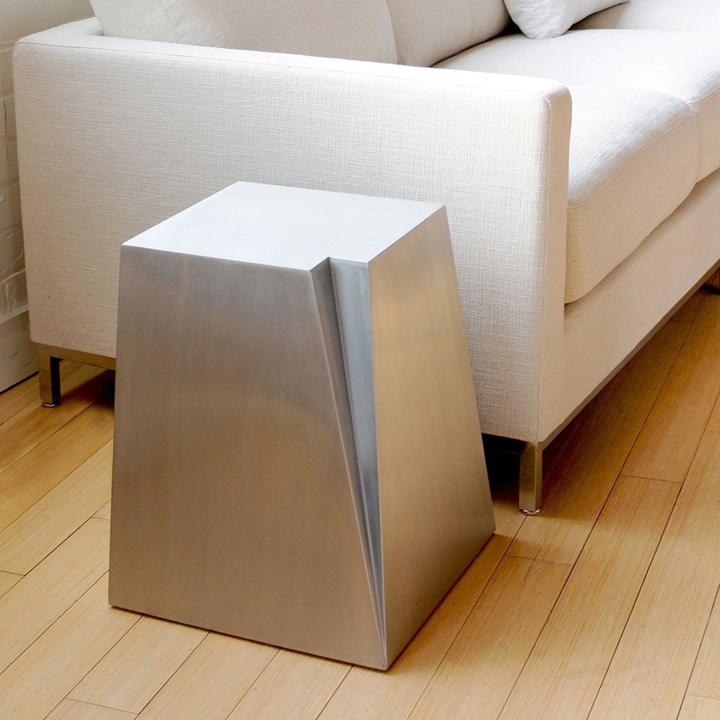Glacier End Table