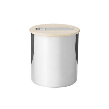 Scoop tea canister with scoop