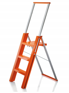 Folding step-ladder
