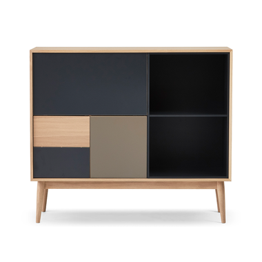 Urban Highboard 130 - 1 dropdown and 2 Doors