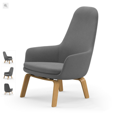 Era Lounge Chair High