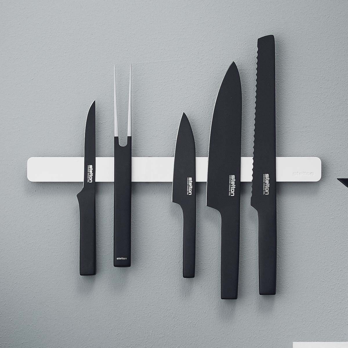 Pure White magnetic knife holder