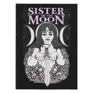 Sister Of The Moon - Hardcover Witch Journal