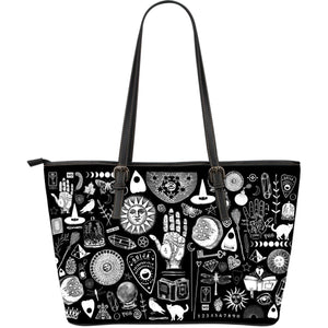 Witch Please - Big artificial leather bag.