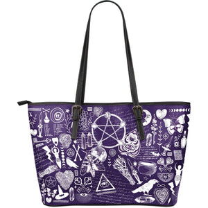 Witch Essentials - Big artificial leather bag