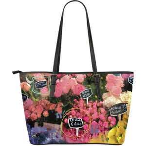 Bloom Market - Big artificial leather bag.