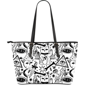 The Witch's Lair - Big artificial leather bag.