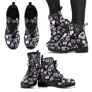 Mystifying hearts - Vegan Boots.