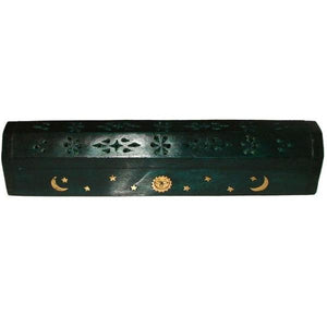 Green Coffin Incense Burner