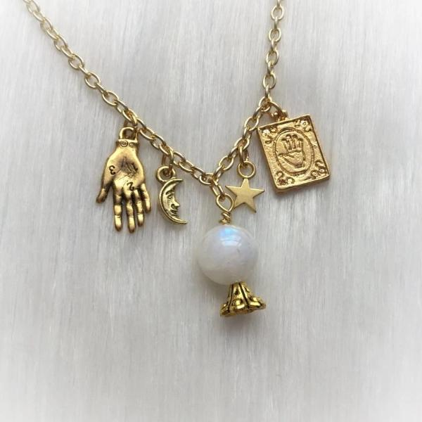 Fortune Teller Charms Necklace
