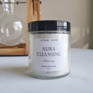 Aura Cleansing Salt Scrub