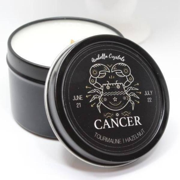 Cancer Zodiac Candle - 4oz