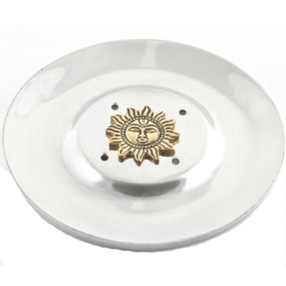 Sun incense stick burner