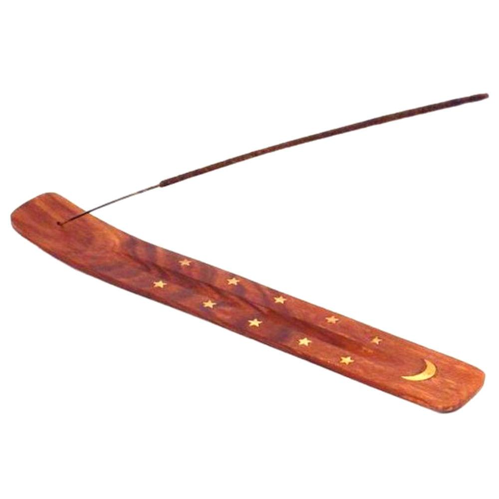 Stars and moon incense holder