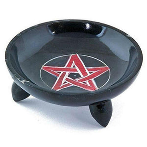 Pentacle smudge burner