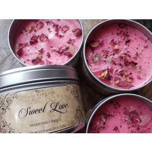 Sweet Love Intention Candle