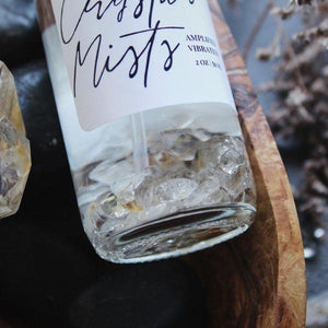 Amplified Vibrations Crystal Mist - Rutilated Quartz Infused Aroma Mist