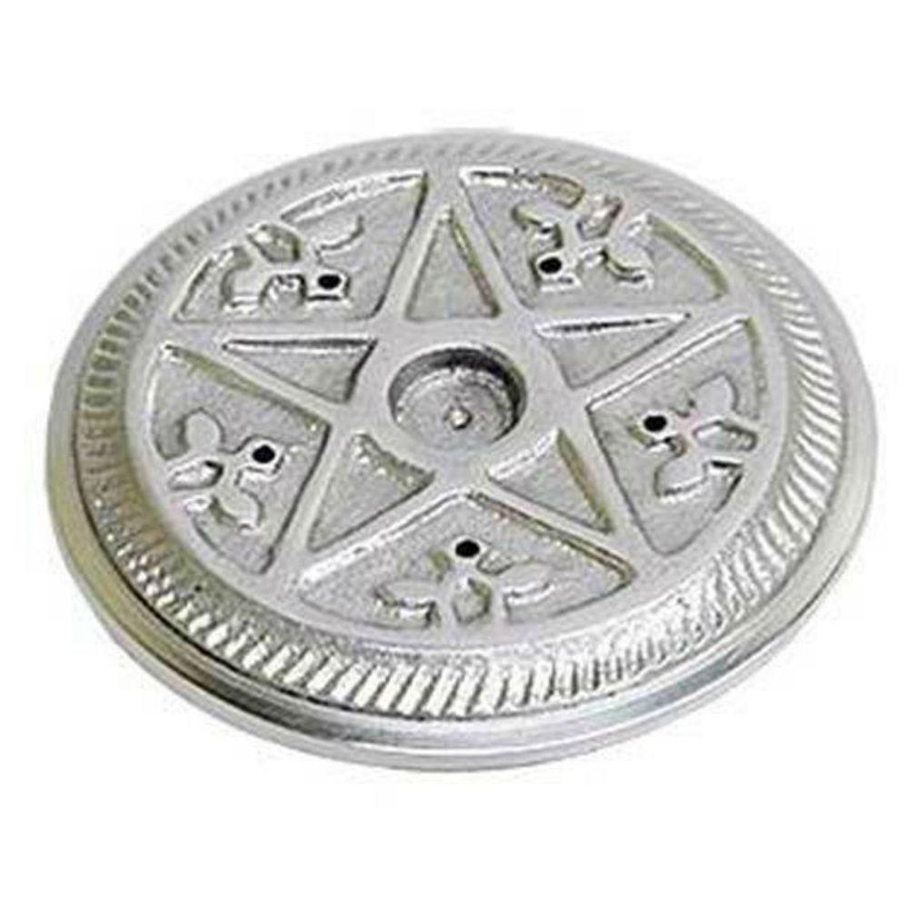 Pentacle incense plate